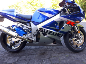Suzuki GSXR 600 Sport bike,MINT
