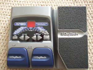 DigiTech RP-80 Multi-Effects Guitar Effect Pedal (No Adapter)