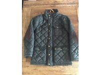 Joules quilted green jackets. Aged 9-10 and 6-7.