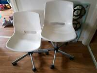 2 Ikea Swivel Chairs