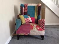 DFS Patch Wing Back Chair