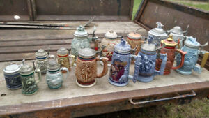 Avon Beer Stein Collection