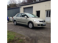 2009 09 Nissan Tilda 1.6 SE Automatic Saloon On Irish Plates