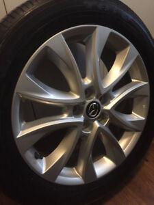19 inch OEM Mazda rims wheels (Look brand new)  w/ Toyo Tires