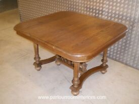 ANTIQUE 19TH CENTURY FRENCH DINING TABLE - BARGAIN