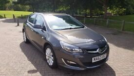 Top Spec, excellent condition, Vauxhall Astra 1.6 5dr Elite, low mileage
