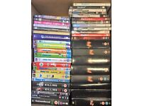 £10 Job Lot DVDs. TV series 24, (8 seasons) Family Guy (9 seasons + extras) The Killing