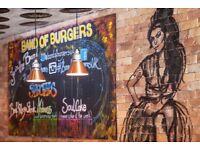 Head Chef / Grill Chef--- Gourmet Burger Restaurant- Camden