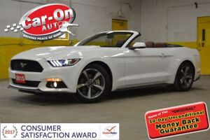 2015 Ford Mustang PREMIUM CONVERTIBLE LEATHER LOADED 9,000 KM