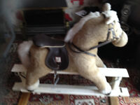 nice large clean and safe rocking horse can deliver