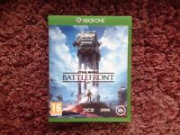 Star Wars Battlefront Xbox One Game and Free Xbox Live Trial