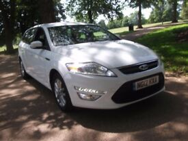 Ford Mondeo 1.6 TDCi Eco Zetec 5dr [Start Stop] 1 OWNER, FULL S/H, AUX, CRUISE (12 reg), Estate
