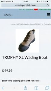 Trophy XL Wading Boots