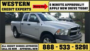 2014 Ram 1500 4x4 ~ 8-Speed ~ Towing Package ~ MINT  $193 B/W