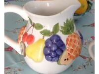 Beautiful jugs for the garden or kitchen ,perfect condition ,,for your pins or sangria !