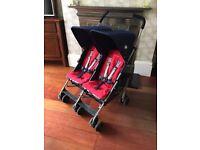 Maclaren Twin Triumph Double Umbrella Stroller