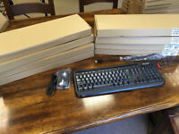 x9 Microsoft 400 Wired Keyboard & Mouse