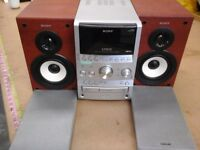 Sony S Master MP3 3 disk player Hi Fi system