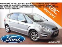 2014 Ford S-MAX 2.0TDCi (140ps) Powershift Titanium-BLUETOOTH-PARK SENSORS-F.S.H