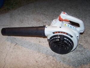 Echo ES-210 gas leaf blower (souffleuse) + new spare carburator