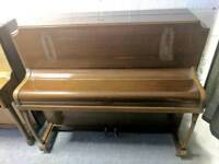 Stunning Oak 'Kirkwood' Upright Console Piano - CAN DELIVER