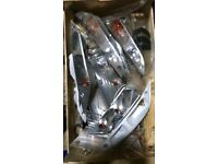 Piaggio zip 50cc indicators sets only rear with covers no front covers only the actual indicators