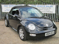 VOLKSWAGEN BEETLE 2.0 CONVERTIBLE 2004 (04) MOT END JAN 2018 / PX TO CLEAR!!!!!!