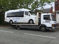 24HR BREAKDOWN RECOVERY SERVICE CARS +VANS