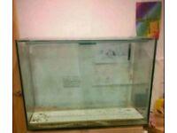 Massive Glass Fish Tank Aquarium