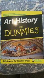 Art History for Dummies book. Perfect condition.