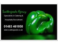 Chef Manager - Horsham -Contract Catering