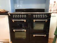 Stoves 1000G range cooker -black.