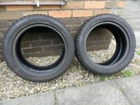 Winter Tyres - 2 x Cooper Weather Master 195/50 R15 6/7 mm tread