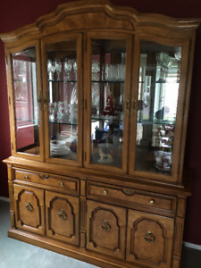 China and Display Cabinet