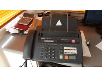 Telephone, hands free, copier, answerphone and Fax machine All in One.