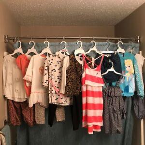 Girls 6-6X clothing lot
