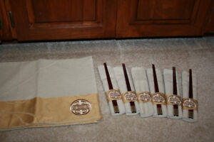 Asian Style Placemats/Napkins/Chopsticks