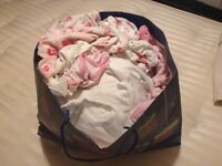 Baby girl bundle of clothes