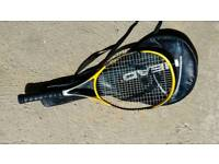 Head carbon racquet