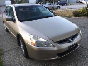 2002 Honda Accord Clean title Sedan