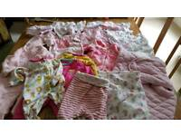 Newborn & Up to 1mth Baby Girls Clothing Bundle 20 Items incl some Brand New Pieces!