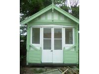 Genuine vintage/antique Norfolk-made summer house