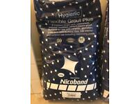 White GROUT -Hygienic & flexible 2.5kg remaning