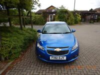 Stunning Chevrolet Cruze 1.6 Lt Automatic With 32500 miles on the clock 2 keys.
