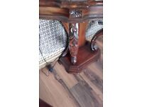 Out standing antique console table wow