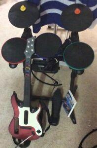 Rockband Bundle! Wii Accessories/Console/Games!