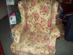 Arm chair needs bit TLC