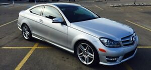 2013 Mercedes C350 4MATIC Coupe Only 17811 KM