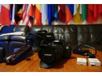 Canon 600D + Tamron AF 28-75mm f/2.8 + Basic accessories