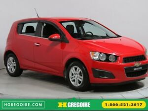 2013 Chevrolet Sonic LT A/C BLUETOOTH MAGS